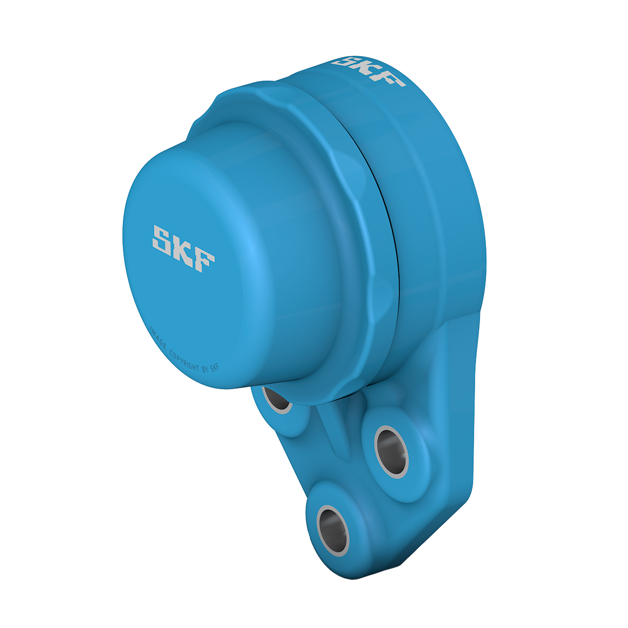 SKF Food line ball bearing units - Blue Range 3-bolt flange design