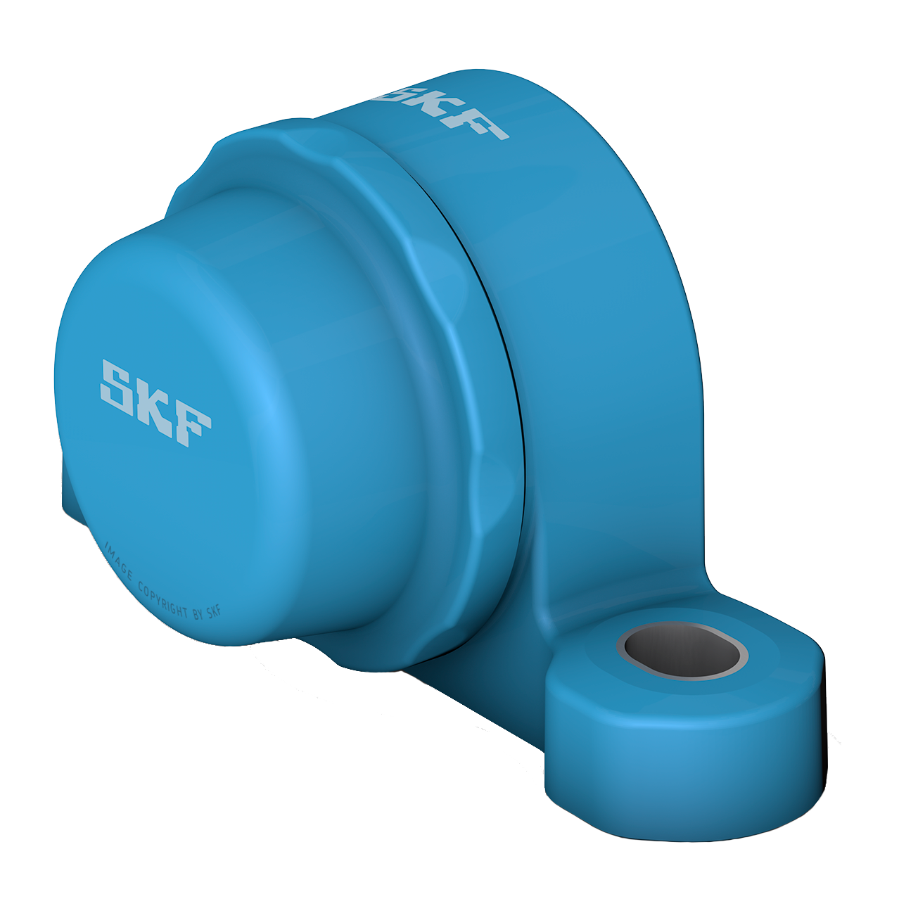 SKF Food line ball bearing units - Blue Range plummer block design