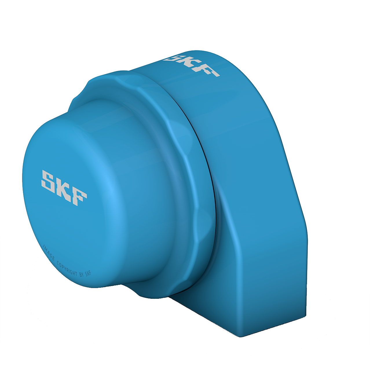 SKF Food line ball bearing units - Blue Range short base plummer block design