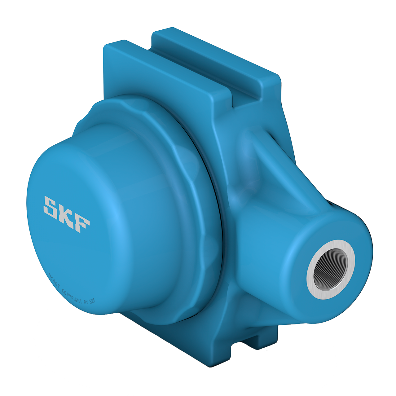 SKF Food line ball bearing units - Blue Range take-up design