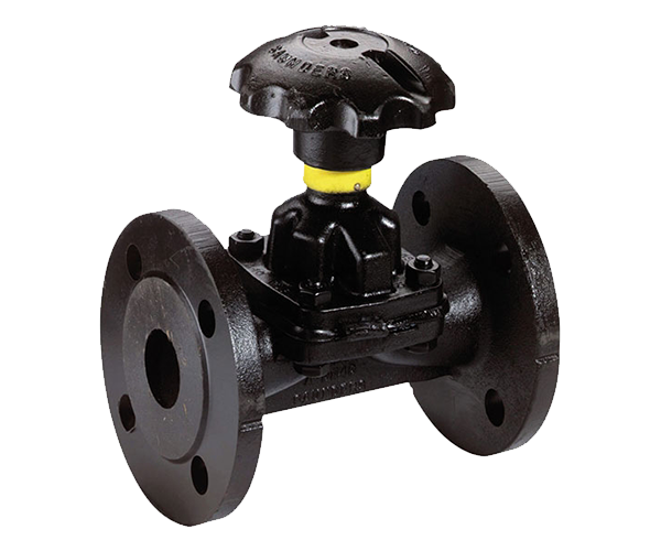 Definition of a Diaphragm valve