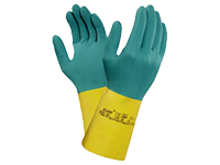 Chemical resistant safety gloves