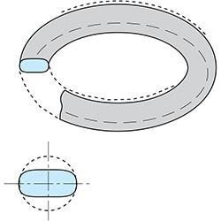 lekkage O-ring compressieset