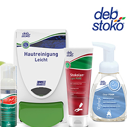 Deb Stoko personal hygiene products
