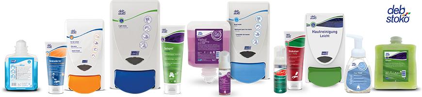 Deb Stoko Handhygiene- und Hautschutzprodukten