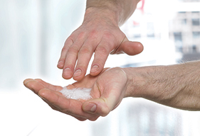 Deb hygiene products for hand disinfection